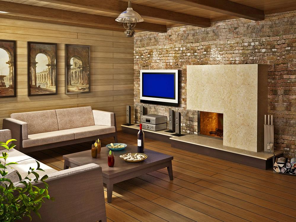 Комната отдыха в бани дизайн